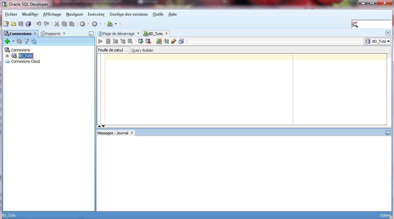Apprendre à installer Oracle et SQL Developer